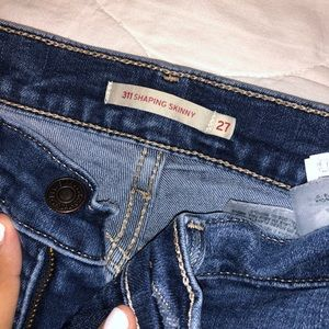LEVIS SHAPING SKINNY JEANS